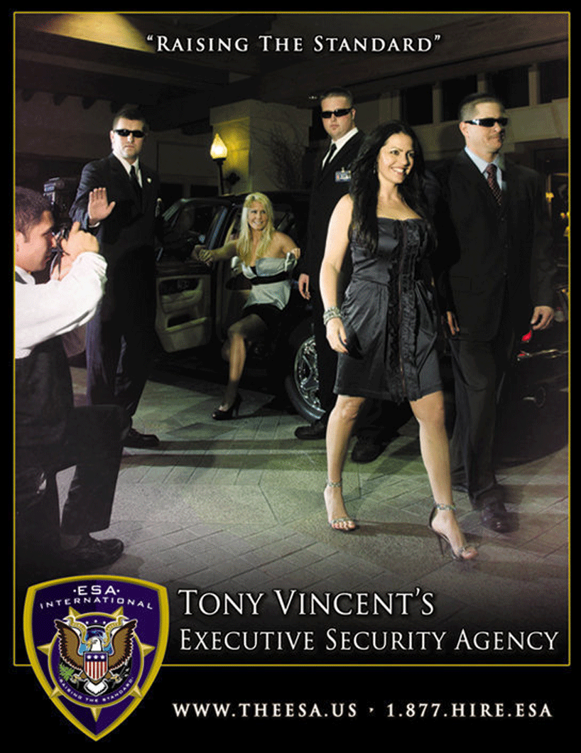 Tony Vincents Executive Security Agency