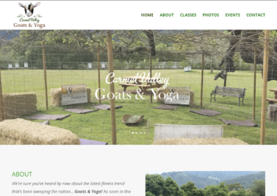 goats and yoga website