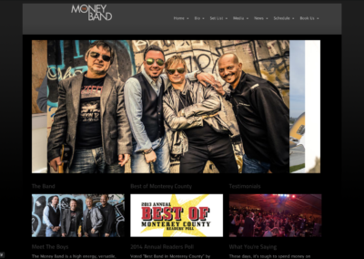 money band website